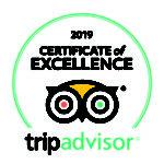 Tripadvisor Certificate of Excellence 2019