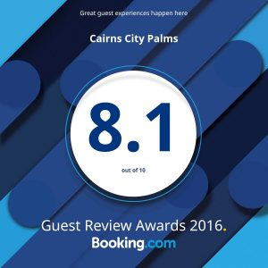 Booking.com Award 8.1 A4